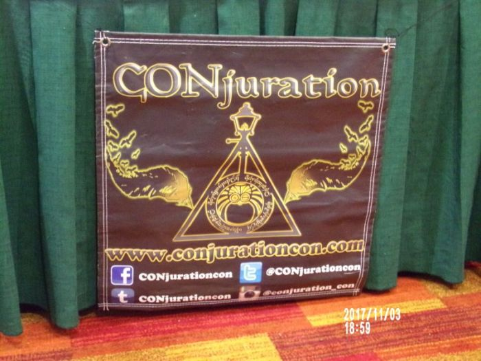 CONjuration was magical fun: Atlanta, GA Nov 3-5, 2017